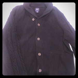 Gap Cowl Neck Button up sweater
